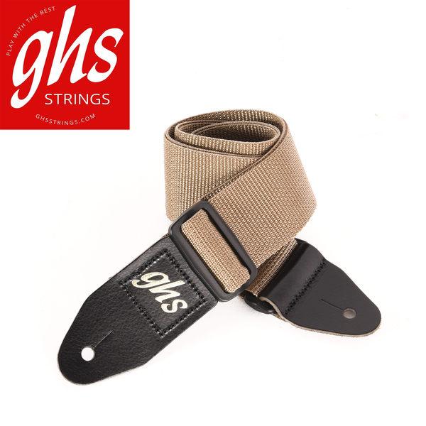 小叮噹的店 GHS GTR尼龍 米黃吉他背帶 GHOP-A8BEIG