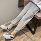 兒童褲子秋裝女童運動褲洋氣衛褲外穿休閑大童春秋季長褲【聚可愛】