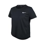 NIKE 女短袖T恤(Dri-FIT 慢跑 路跑 運動 上衣 免運 ≡排汗專家≡