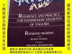 二手書博民逛書店Murphy罕見Grammar in Use Student's Book 書內有筆記Y23470 Cambr
