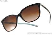 Tiffany&CO.太陽眼鏡 TF4105HB 81343B (琥珀-蒂芬妮綠) 奢華典雅經典珍珠款 墨鏡 # 金橘眼鏡
