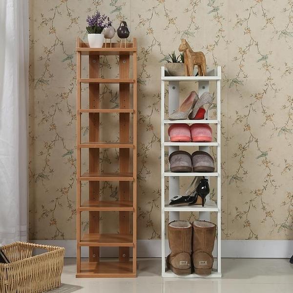 鞋架經濟型家用防塵多功能多層門口鞋櫃省空間簡易迷你小號MBS『潮流世家』