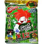 (泰國) kabuki 味覺百撰 好大片鮮脆脆海苔片(好大片脆海苔) 1包 60 公克(10片)