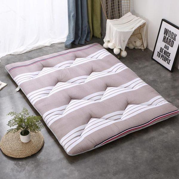 床墊1.8m床褥子1.5m加厚地鋪墊被學生宿舍雙單人0.9米1.2m榻榻米  color shopYYP