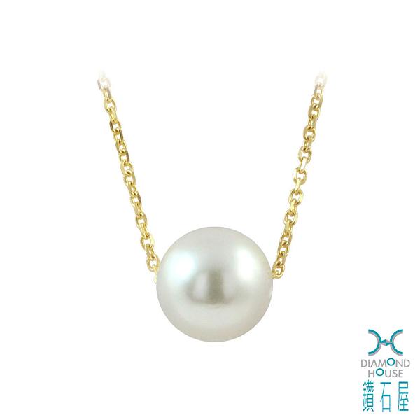 【鑽石屋】7.5mm珍珠項鍊