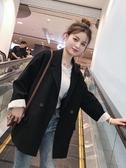 西裝外套新款韓版秋裝西裝外套女潮休閒網紅小西服套裝英倫風秋冬上衣 交換禮物