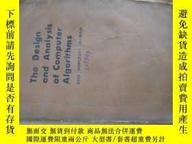 二手書博民逛書店c0012the罕見design and analysis of