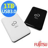 [哈GAME族]免運費 可刷卡●輕薄1.4cm●Fujitsu 富士通 EH100 1TB USB3.0 2.5吋 行動硬碟 外接硬碟 ABS鏡面