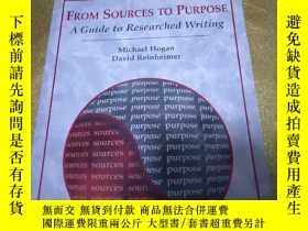 二手書博民逛書店英文原版書罕見From Sources to Purpose: