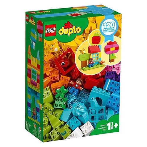樂高積木 LEGO《 LT10887 》Duplo 得寶系列 - 歡樂創意顆粒套裝 / JOYBUS玩具百貨