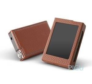 平廣 配件 原廠 皮套 COWON iAUDIO PLENUE D PD  棕色皮套 MP3 隨身聽 原廠皮套