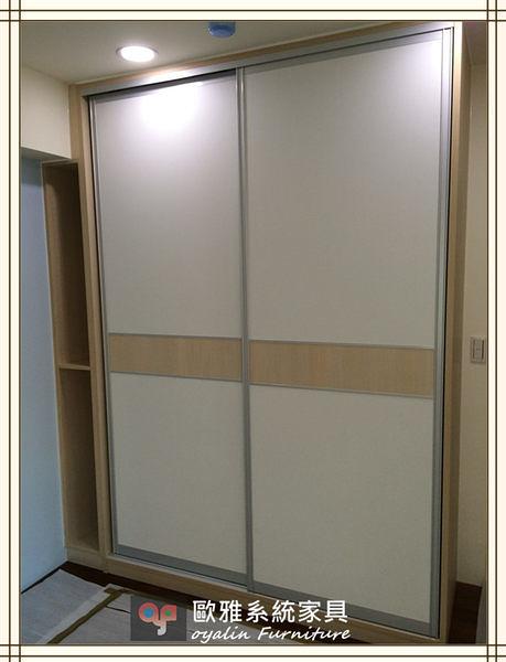 【歐雅系統家具】系統家具 系統收納櫃 推拉門衣櫃設計