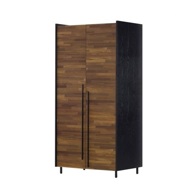 畢卡索2.6尺雙色雙吊衣櫃(18JF/028-2)【DD House】