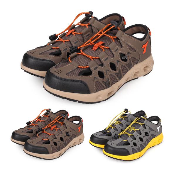 DIADORA 男涉水護趾涼鞋(拖鞋 休閒涼鞋 海邊 海灘 戲水≡體院≡ DA9AMO7353 DA9AMO7358
