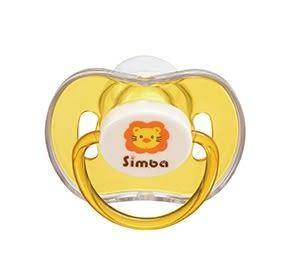 『121婦嬰用品館』小獅王辛巴 糖果拇指型安撫奶嘴-橘色(較大)