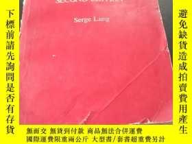二手書博民逛書店CALCULUS罕見OF SEVERAL VARIABLES SECOND EDITION(多 微積分第二版)