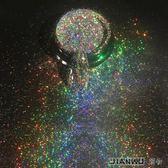 甲彩虹粉電鍍金屬閃粉鐳射銀亮粉極細粉末