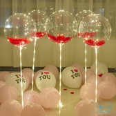 氣球 波波球生日裝飾氣球場景布置套餐網紅發光求婚浪漫表白派對