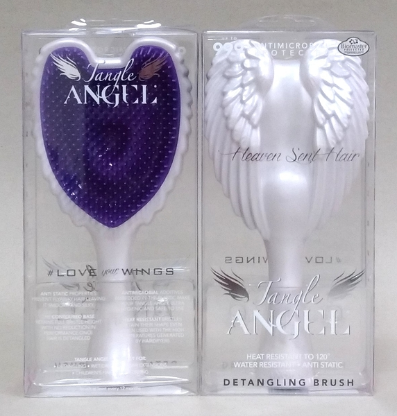 英國TANGLE TEEZER天使梳/白色/原裝進口/耐熱 抗菌 抗靜電細緻的質感/尺寸 18.7 cm