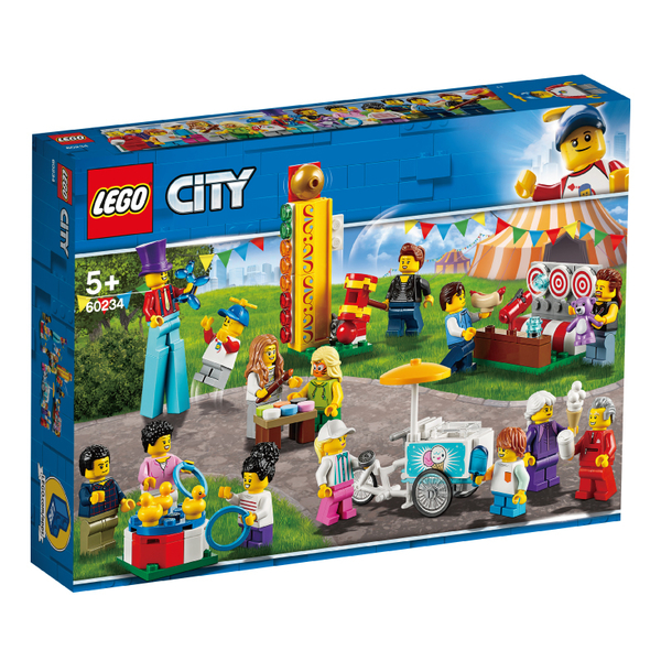 LEGO樂高 城市系列 60234 人偶套裝 - 園遊會 積木 玩具