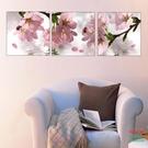 無框畫裝飾畫酒店賓館客廳沙發背景桃花花開客廳臥室壁畫