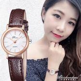 手錶女士石英表韓版簡約防水潮女表休閒時尚潮流 黛尼時尚精品