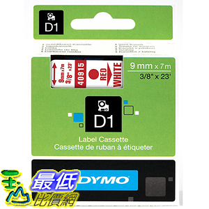 [美國直購] DYMO 40915 Standard D1 Self-Adhesive Polyester Tape for Label Makers 標籤紙
