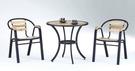 【南洋風休閒傢俱】戶外休閒桌椅系列-休閒圓桌椅組 戶外餐桌椅CX903-1 CX939-15)