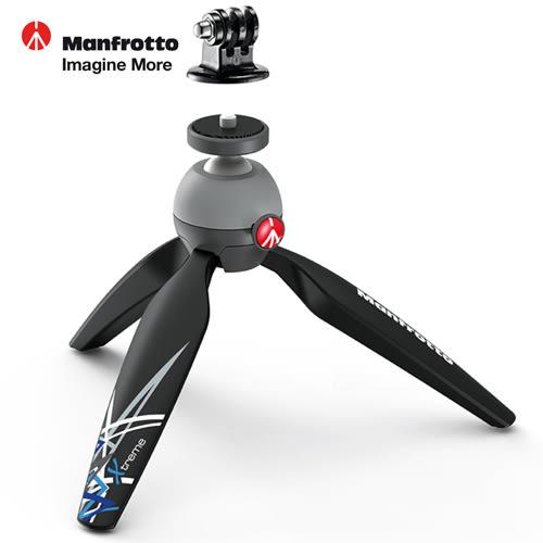 《Manfrotto》PIXI Xtreme 零極限輕巧迷你腳架