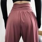 速乾運動褲 運動褲女寬鬆長褲束腳褲春季跑步健身褲大碼高腰瑜伽褲休閒褲