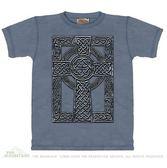 『摩達客』 (預購)(大尺碼3X) 美國進口【The Mountain】自然純棉系列 凱爾特印記 設計T恤(1049045055ab)