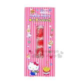 〔小禮堂〕Hello Kitty 日製塑膠包裝袋《M.20入.粉紅.甜點.食物.滿版》銅板小物 4904701-94004