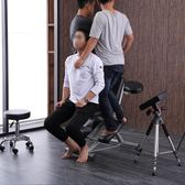 紋身椅多功能折疊式刮痧椅保健推拿按摩椅滿背刺青椅便攜式美容床igo『潮流世家』