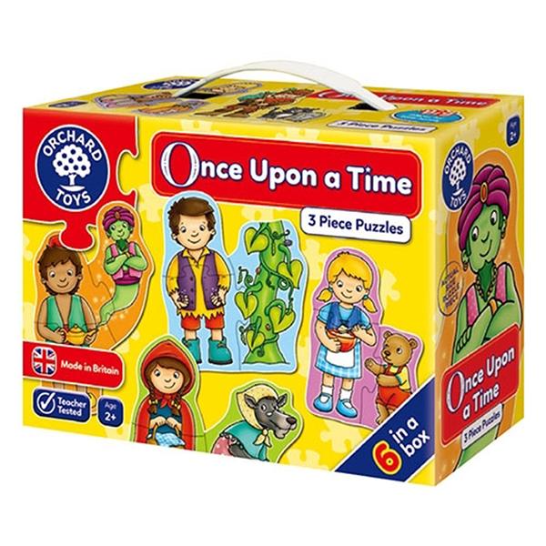 【英國 Orchard Toys】第一組拼圖-童話故事 OT-210
