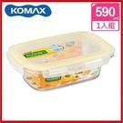 (特價出清) 韓國 KOMAX 輕透Tritan長形保鮮盒590ml 72505【AE02282】i-Style居家生活