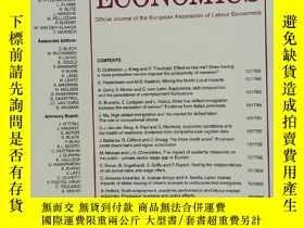 二手書博民逛書店LABOUR罕見ECONOMICS 2020年4月 英文版Y42402