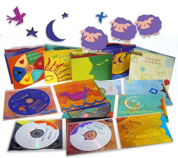 向綠音樂  大地搖籃曲系列精選 第1套 CD 5片裝 (音樂影片購)