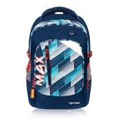 Tiger Family MAX系列超輕量護脊書包-幾何冰藍