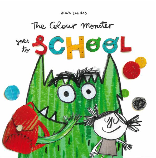 THE COLOUR MONSTER GOES TO SCHOOL /英文繪本《中譯: 彩色怪獸續集》主題:顏色.情緒管理.想像