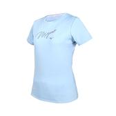 MIZUNO 女短袖T恤(免運 台灣製 上衣 吸濕排汗 抗UV 咖啡紗 美津濃≡排汗專家≡