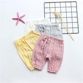 黑五好物節 女寶寶防蚊褲0-1-2歲3女嬰兒燈籠褲夏季薄款【名谷小屋】