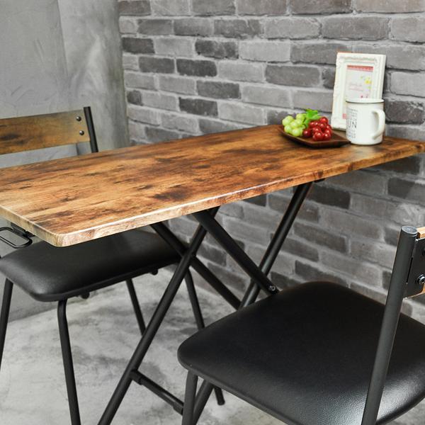 日式茶几桌/升降桌/餐桌/工作桌/仿古木色 Lift Table MIT台灣製【5011-528】Tasteful 特斯屋