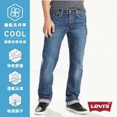 Levis 男款514™ 舒適直筒牛仔褲 / Cool Jeans / 中藍刷色
