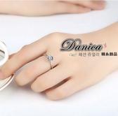 戒指 現貨 韓國 專櫃CZ鑽 經典萬年不敗 百搭爆閃 六爪 單鑽 水晶 開口戒指 S5171 批發價