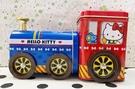 【震撼精品百貨】Hello Kitty_凱蒂貓~三麗鷗 KITTY台灣授權鐵製置物盒-火車造型#13225