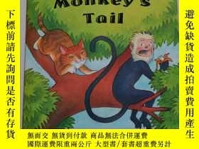二手書博民逛書店the罕見cat and the monkey s tailY8