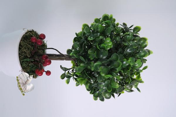 仿真 七里香樹小品盆栽 料理裝飾☆人造花.假樹.居家.店面.櫥窗擺飾.園藝☆
