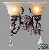 不二467歐式鐵藝燈具 鐵藝壁燈 歐式壁燈 通道壁燈 酒吧酒店壁燈 壁燈