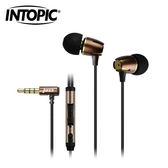 INTOPIC 廣鼎 高質感鋁合金耳機麥克風 i72-BR