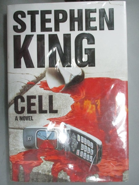 【書寶二手書T8/原文書_ZJM】Cell: A Novel (Hardcover)_Stephen King